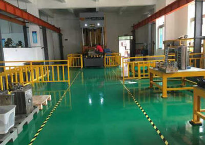 Plastic mould factory